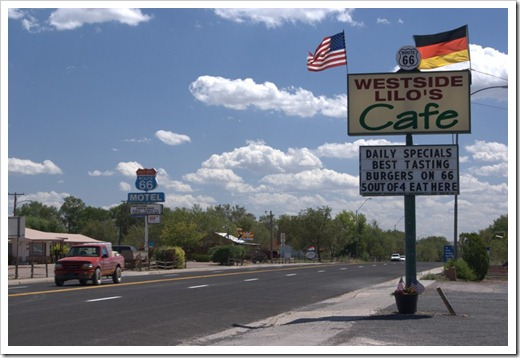 Lilo's Cafe auf der Route 66