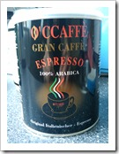 O'CCAFFE Gran Caffe Espresso